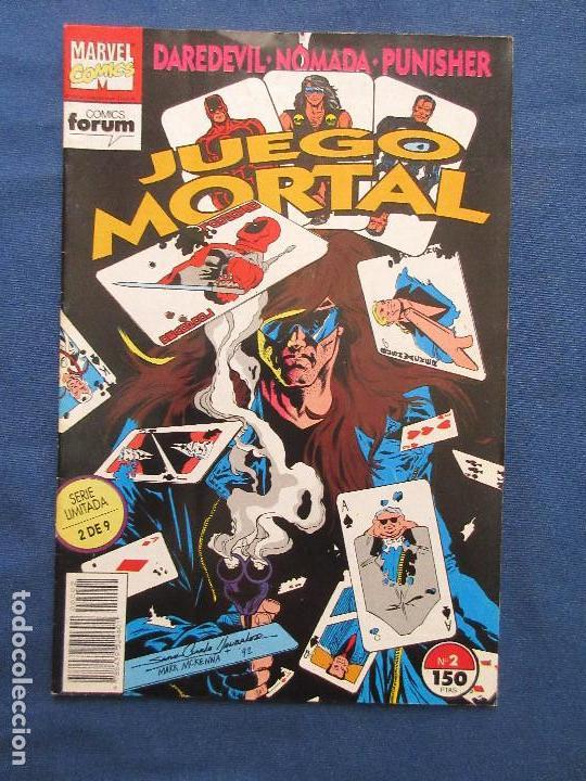 MARVEL / DAREDEVIL · NÓMADA · PUNISHER - JUEGO MORTAL N.º 2 DE 9 SERIE LIMITADA FORUM 1993 (Tebeos y Comics - Forum - Daredevil)