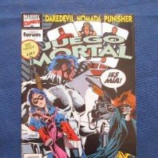 Comics : DAREDEVIL · NÓMADA · PUNISHER - JUEGO MORTAL N.º 4 DE 9 SERIE LIMITADA FORUM 1993 MARVEL CÓMICS. Lote 142512554