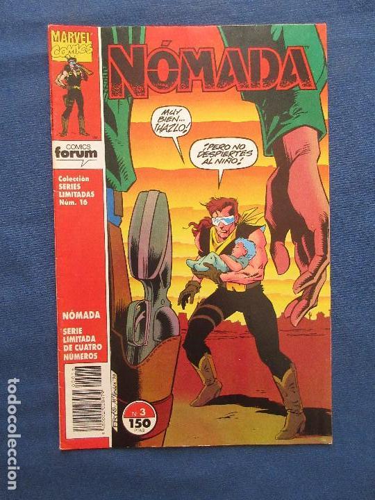 MARVEL / NÓMADA N.º 3 DE 4 - FORUM 1992 - COLECCIÓN SERIES LIMITADAS N.º 16 (Tebeos y Comics - Forum - Daredevil)