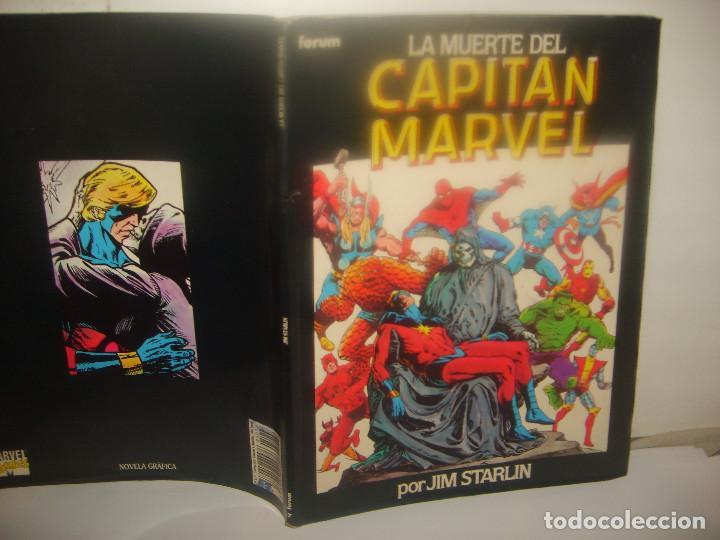 LA MUERTE DEL CAPITÁN MARVEL. FORUM. RÚSTICA. (Tebeos y Comics - Forum - Prestiges y Tomos)