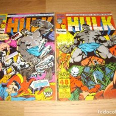 Cómics: HULK - LOTE 2 NUMEROS. Lote 142603318