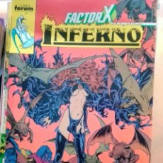 Cómics: INFERNO 18. FACTOR-X. Lote 142731009