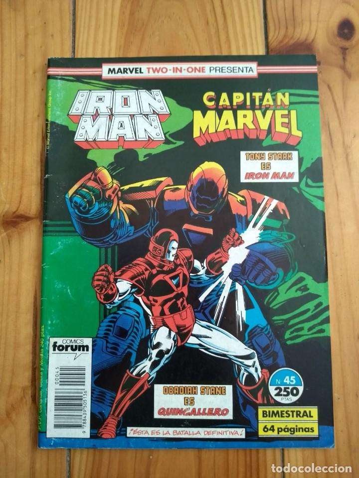 IRON MAN Nº 45 - MARVEL TWO IN ONE CON CAPITÁN MARVEL (Tebeos y Comics - Forum - Iron Man)