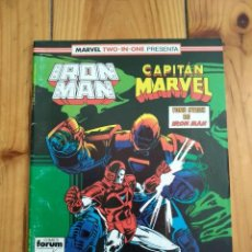 Cómics: IRON MAN Nº 45 - MARVEL TWO IN ONE CON CAPITÁN MARVEL. Lote 142764070