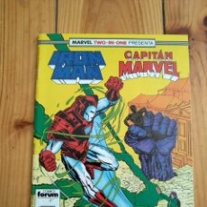 Cómics: IRON MAN Nº 50 - MARVEL TWO IN ONE CON CAPITÁN MARVEL. Lote 142764234
