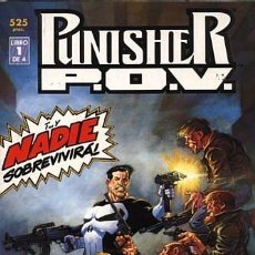 Cómics: PUNISHER P.O.V. Nº 1 (FORUM) JIM STARLIN Y BERNIE WRIGHTSON. Lote 142774378