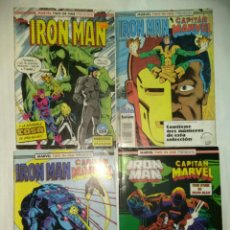 Cómics: LOTE COMICS FORUM IRON MAN TWO IN ONE CAPITAN MARVEL. Lote 142784230