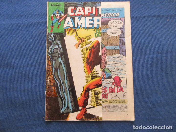 Cómics: CAPITÁN AMÉRICA N.º 7 VOLUMEN 1 FORUM 1985 Vol. I - DEFECTUOSO - Foto 1 - 142849754