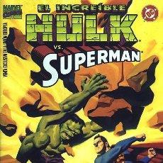 Cómics: HULK VS SUPERMAN (NÚMERO ESPECIAL FORUM) ROGER STERN Y STEVE RUDE. Lote 142862222