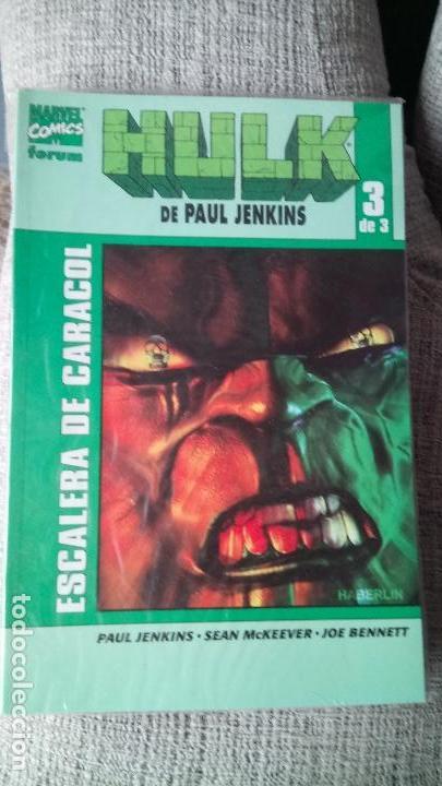 HULK DE PAUL JENKINS COMPLETA COMICS FORUM (Tebeos y Comics - Forum - Hulk)