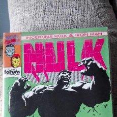 Cómics: HULK & IRON MAN COMPLETA COMICS FORUM. Lote 142930262