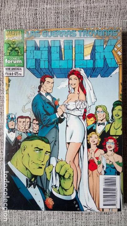 HULK LAS GUERRAS TROYANAS COMPLETA COMICS FORUM (Tebeos y Comics - Forum - Hulk)