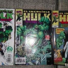 Cómics: HULK VOLUMEN 3 COMPLETA COMICS FORUM. Lote 142931150