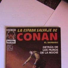 Cómics: LA ESPADA SALVAJE DE CONAN # 91 . 1ª EDICIÓN MUY BUEN ESTADO. Lote 142945446