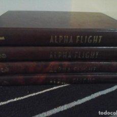 Cómics: 4 TOMOS ALPHA FLIGHT EN CARTONÉ COSIDO, CAPÍTULOS EN LA DESCRIPCIÓN . Lote 142945486
