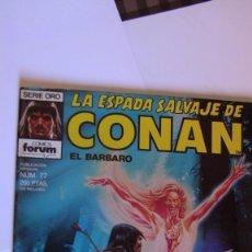 Cómics: LA ESPADA SALVAJE DE CONAN # 77. 1ª EDICIÓN 1986 MUY BUEN ESTADO. Lote 142945526