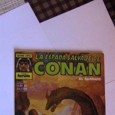 Cómics: LA ESPADA SALVAJE DE CONAN # 63. 1ª EDICIÓN 1986 PERFECTO ESTADO. Lote 142945594