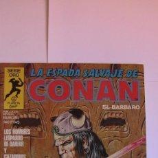 Cómics: LA ESPADA SALVAJE DE CONAN # 28. LOS HOMBRES LEOPARDO DE DARFAR. 1ª EDICIÓN SERIE ORO 1984. Lote 142945798