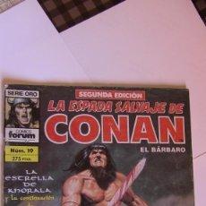 Cómics: LA ESPADA SALVAJE DE CONAN #19, 2ª EDICIÓN. Lote 142945910