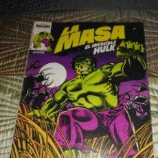 Cómics: LA MASA VOL. 1 Nº 1. Lote 142969442