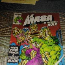 Cómics: LA MASA VOL. 1 Nº 2. Lote 142969594