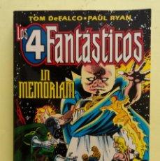 Cómics: LOS CUATRO FANTÁSTICOS. IN MEMORIAM. FORUM. 1996. Lote 143035478