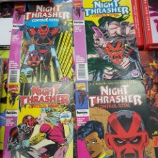 Cómics: NIGHT THRASHER COMPLETA. SERIE LIMITADA DE 4 NÚMEROS. FORUM. Lote 143111142
