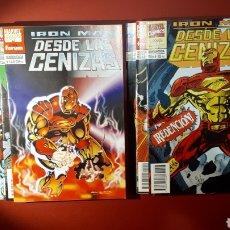 Cómics: DE KIOSCO IRON MAN DESDE LAS CENIZAS COMPLETA 1 - 8 FORUM. Lote 143130076