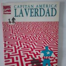 Cómics: CAPITÁN AMÉRICA. LA VERDAD. Lote 143131246