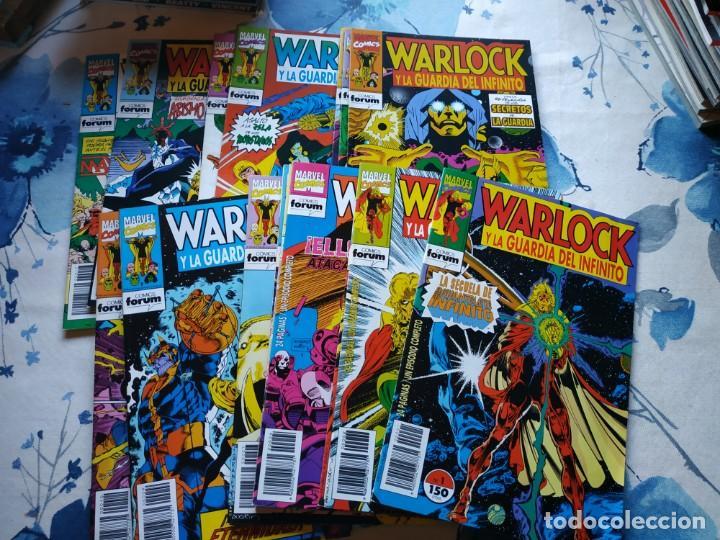 WARLOCK Y LA GUARDIA DEL INFINITO 17 COMPLETA(Tebeos y Comics - Forum - Otros Forum)