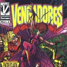 Cómics: LOS VENGADORES VOL. 2 Nº 6 - FORUM IMPECABLE 1996. Lote 143159726