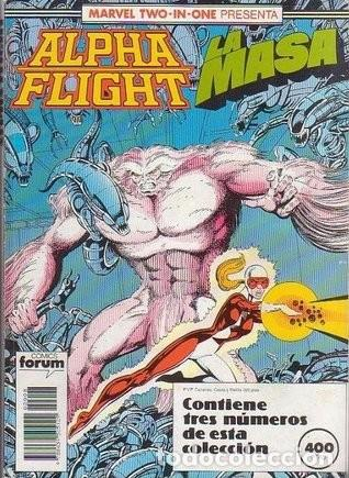 RETAPADO MARVEL TWO-IN-ONE ALPHA FLIGHT · LA MASA NUMEROS 48, 49 Y 50 (Tebeos y Comics - Forum - Alpha Flight)