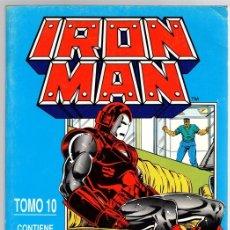 Cómics: IRON MAN. TOMO 10. CONTIENE LOS NUM. 53 AL 55 DE LA COLECCION. FORUM, PLANETA, 1991. Lote 143161872
