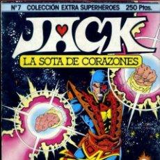 Cómics: COLECCIÓN EXTRA SUPERHÉROES 7: JACK, LA SOTA DE CORAZONES. Lote 143173854