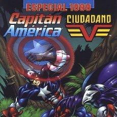 Cómics: CAPITÁN AMÉRICA / CIUDADANO V ESPECIAL 1999 - FORUM IMPECABLE. Lote 143175902