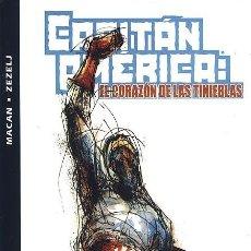 Cómics: CAPITÁN AMÉRICA: EL CORAZÓN DE LAS TINIEBLAS - FORUM IMPECABLE. Lote 143176194