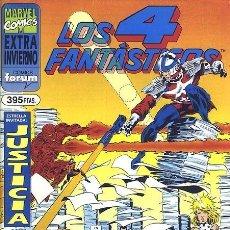Cómics: LOS 4 FANTÁSTICOS EXTRA INVIERNO 1995 - FORUM. Lote 143176534