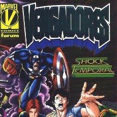 Cómics: VENGADORES: SHOCK TEMPORAL - FORUM IMPECABLE. Lote 143177278