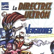 Cómics: ESPECIAL VENGADORES: LA DIRECTRIZ ULTRÓN - FORUM IMPECABLE. Lote 143179398