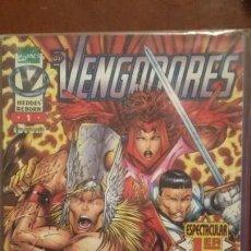 Cómics: VENGADORES 1 HEROES REBORN MUY BUEN ESTADO. Lote 143250738