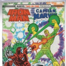 Cómics: IRON MAN CAPITAN MARVEL. Nº 51. FORUM. PLANETA, 1990. Lote 143306292
