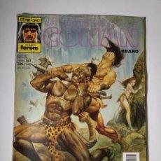 Cómics: LA ESPADA SALVAJE DE CONAN EL BÁRBARO Nº 147-1ª EDICION - SERIE ORO - FORUM 1994. Lote 143346214