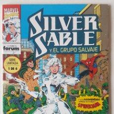 Cómics: SILVER SABLE #1 (FORUM, 1993). Lote 143373554