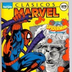 Cómics: CLASICOS MARVEL. SPIDERMAN. CINCO NUMEROS. 11-12-13-14 Y 15. FORUM, PLANETA, 1989. Lote 143400306