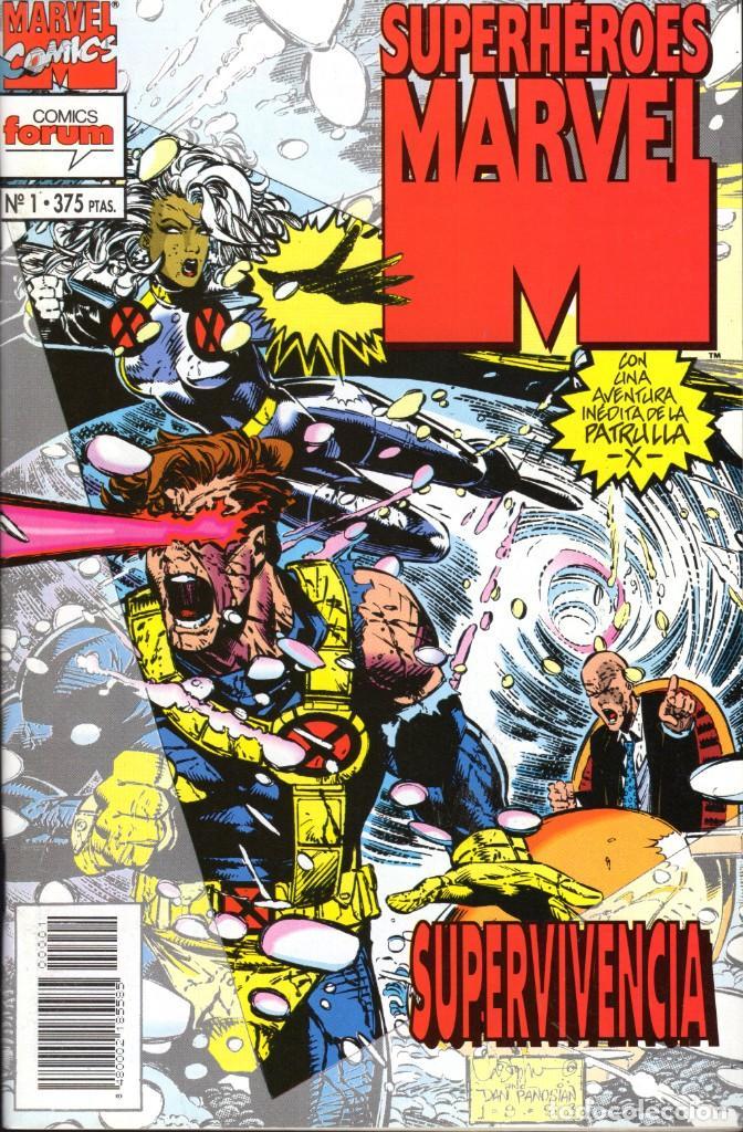 SUPERHÉROES MARVEL 1 AL 21 COMPLETA (Tebeos y Comics - Forum - Otros Forum)