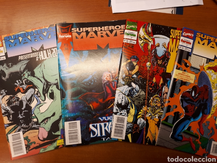 Cómics: Superhéroes Marvel 1 al 21 completa - Foto 6 - 143408294
