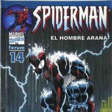Cómics: SPIDERMAN EL HOMBRE ARAÑA Nº 14 FORUM. Lote 143552106