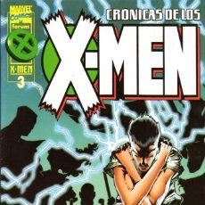 Cómics: CRÓNICAS DE LOS X MEN 3, 4 Y 5 . Lote 143566254