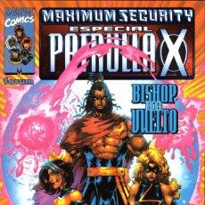 Cómics: PATRULLA X ESPECIAL MAXIMUM SECURITY. Lote 143567946