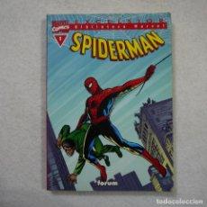 Cómics: BIBLIOTECA MARVEL N.º 1. SPIDERMAN - FORUM. Lote 143615978